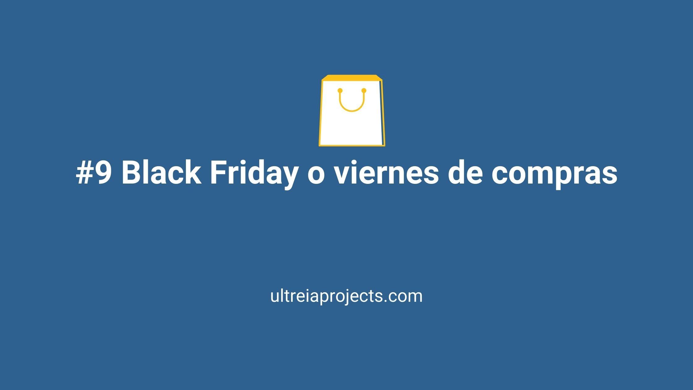 Black friday o viernes de compras