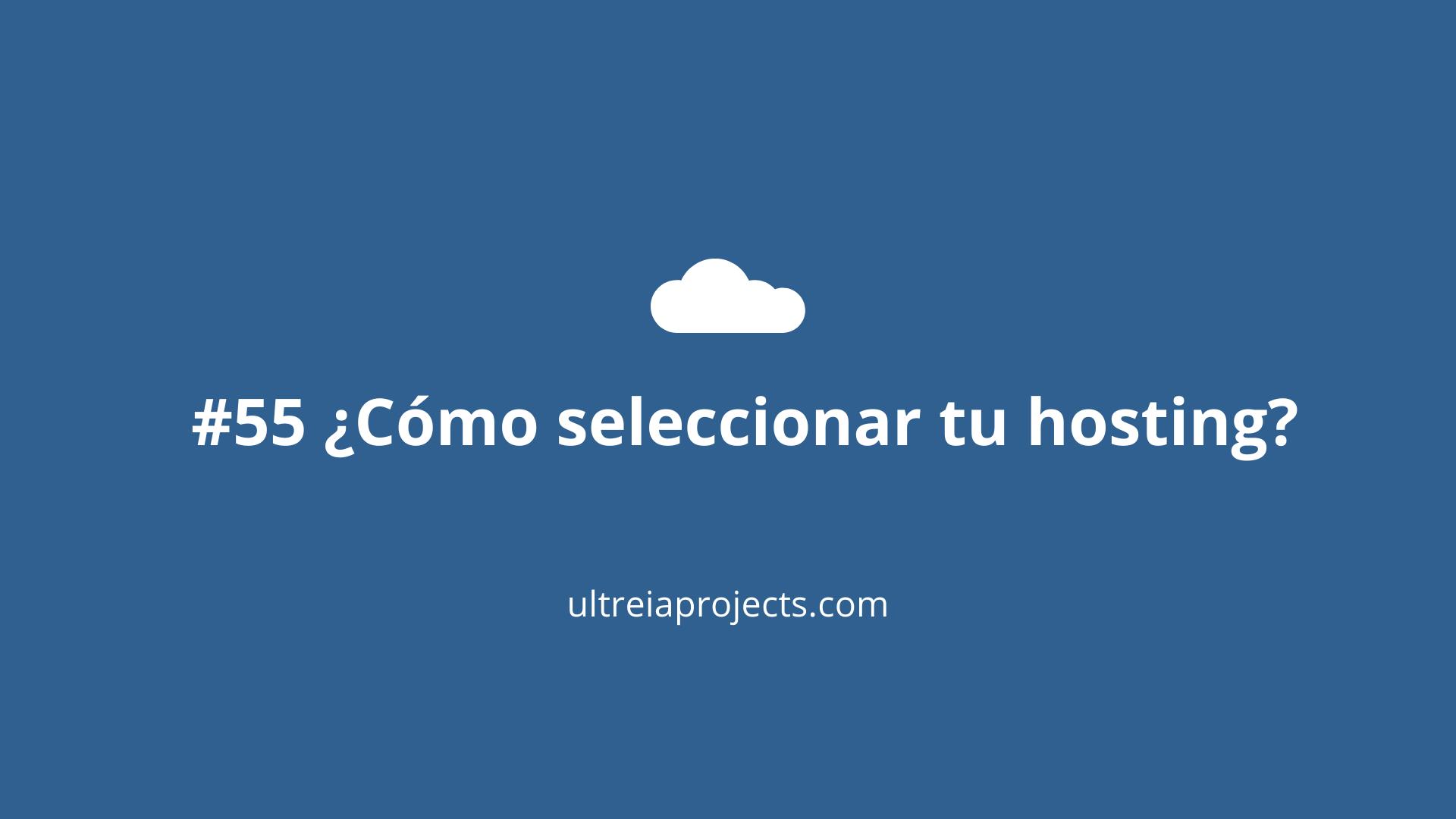 Portada post Cómo seleccionar un hosting